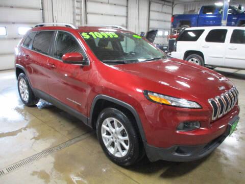 2016 Jeep Cherokee for sale at Granite Auto Sales in Redgranite WI