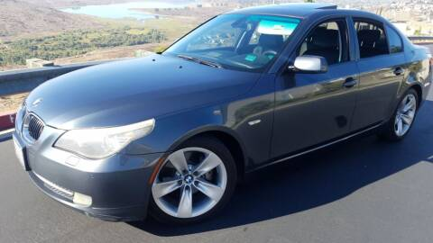 2008 BMW 5 Series for sale at Trini-D Auto Sales Center in San Diego CA