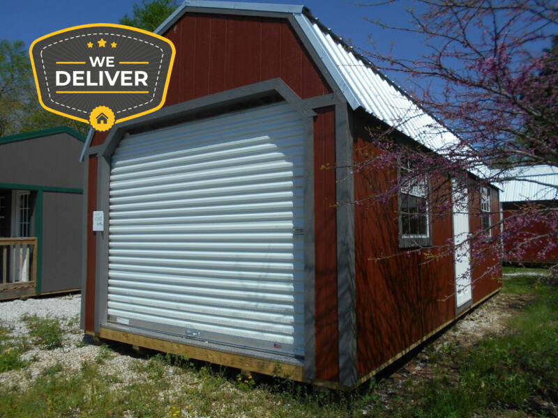 2021 Premier Urethane Side Lofted Garage for sale at Executive Motor Sports LLC in Sparta MO