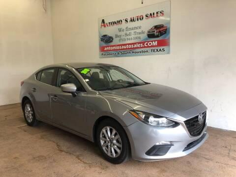 2016 Mazda MAZDA3 for sale at Antonio's Auto Sales - Antonio`s  2206 in Pasadena TX
