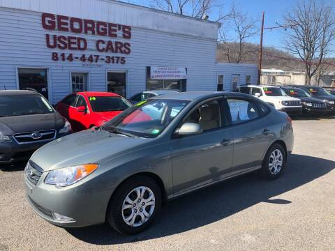 2010 Hyundai Elantra for sale at George's Used Cars Inc in Orbisonia PA