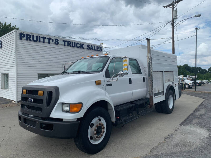 2004 Ford F-750 Super Duty for sale at Pruitt's Truck Sales in Marietta GA