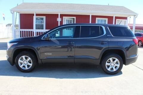 2018 GMC Acadia for sale at AMT AUTO SALES LLC in Houston TX