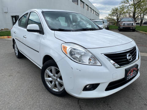 2012 Nissan Versa for sale at JerseyMotorsInc.com in Teterboro NJ
