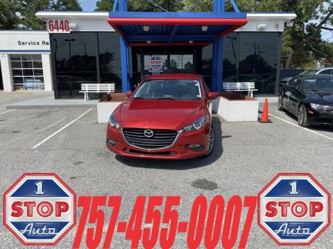 2018 Mazda MAZDA3 for sale at 1 Stop Auto in Norfolk VA