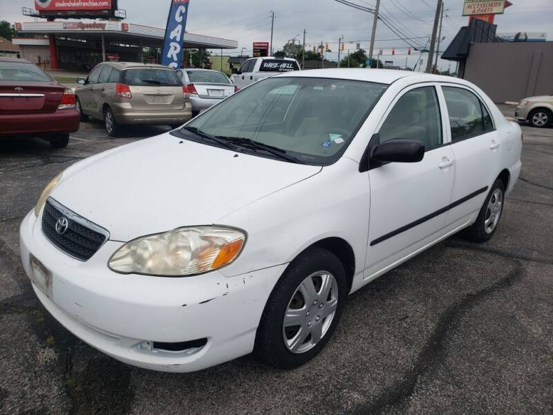 2008 Toyota Corolla for sale at speedy auto sales in Indianapolis IN