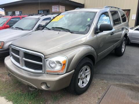 2004 Dodge Durango for sale at City Auto Sales in Sparks NV