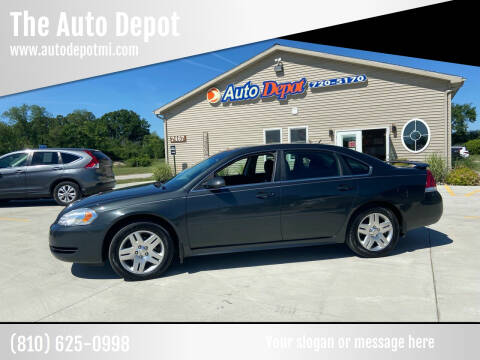 2013 Chevrolet Impala for sale at The Auto Depot in Mount Morris MI
