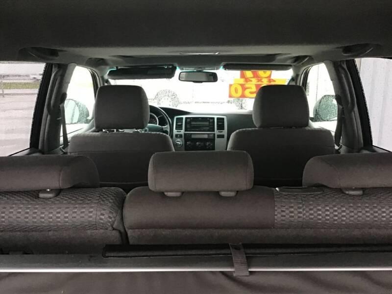 2007 Toyota 4Runner SR5 4dr SUV 4WD V6 - Bates City MO