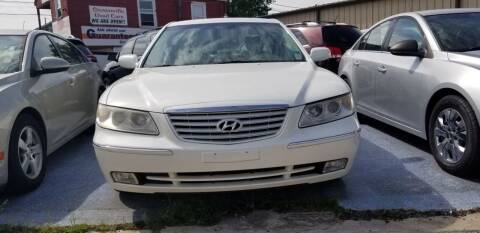 2006 Hyundai Azera for sale at Sissonville Used Cars in Charleston WV