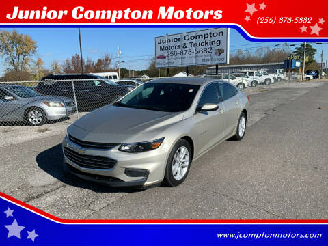 2016 Chevrolet Malibu for sale at Junior Compton Motors in Albertville AL