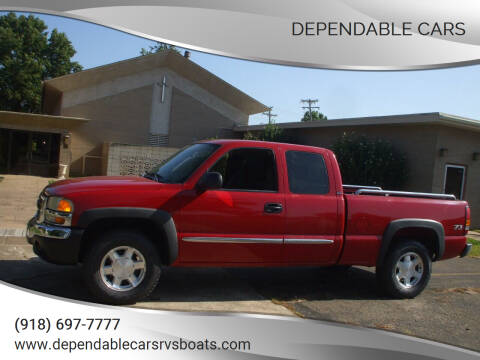 2004 GMC Sierra 1500 for sale at DEPENDABLE CARS in Mannford OK