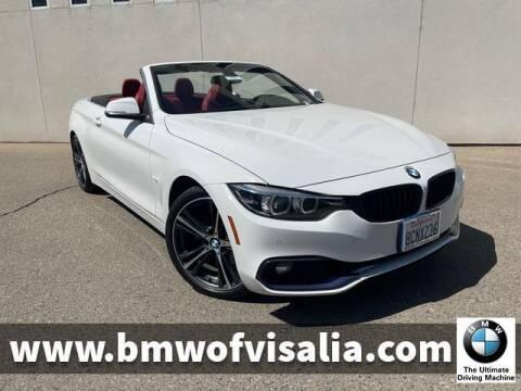2018 BMW 4 Series for sale at BMW OF VISALIA in Visalia CA