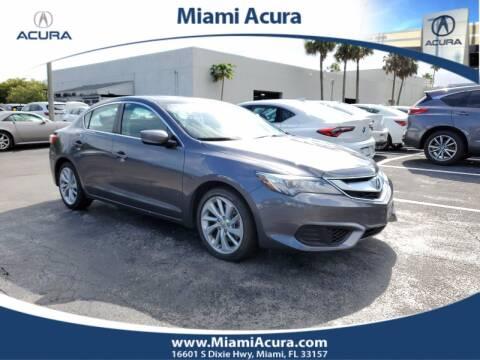 2018 Acura ILX for sale at MIAMI ACURA in Miami FL