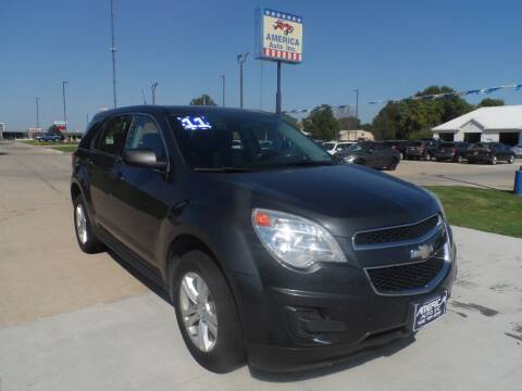 2011 Chevrolet Equinox for sale at America Auto Inc in South Sioux City NE