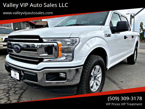 2018 Ford F-150 for sale at Valley VIP Auto Sales LLC in Spokane Valley WA