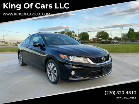 2013 Honda Accord for sale at King of Cars LLC in Bowling Green KY