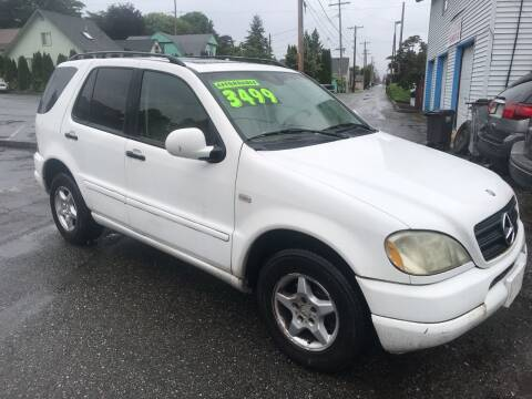 2001 Mercedes-Benz M-Class for sale at American Dream Motors in Everett WA