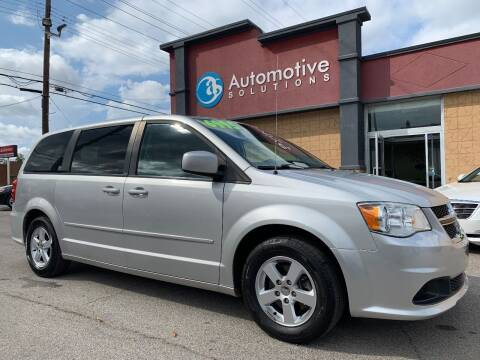 2012 Dodge Grand Caravan for sale at Automotive Solutions in Louisville KY