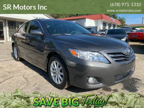 2011 Toyota Camry for sale at SR Motors Inc in Gainesville GA