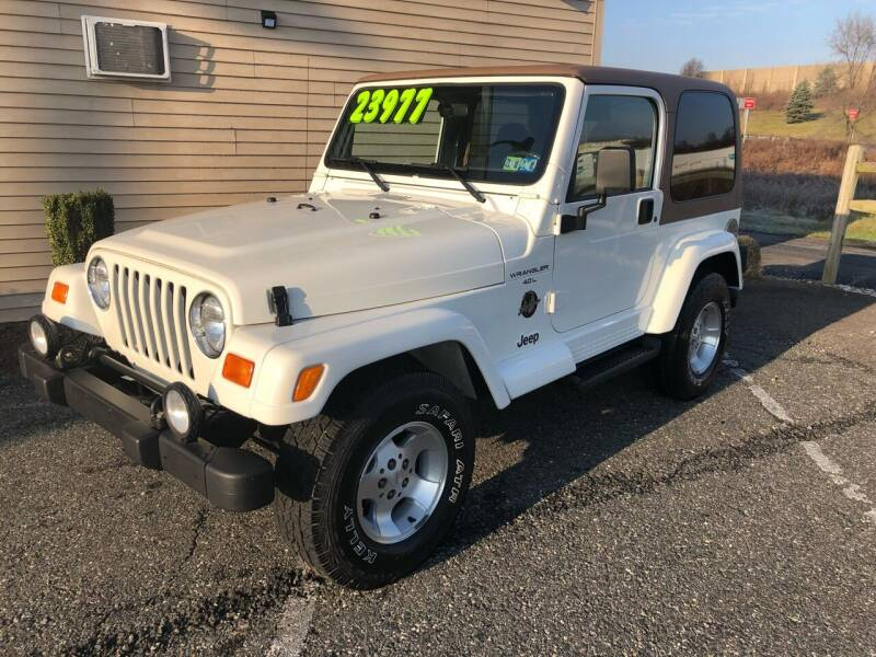 2001 Jeep Wrangler for sale at Cool Breeze Auto in Breinigsville PA