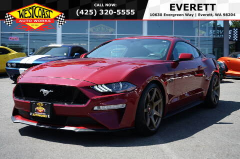 2018 Ford Mustang for sale at West Coast Auto Works in Edmonds WA