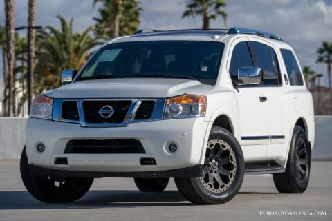 2015 Nissan Armada for sale at Euro Auto Sales in Santa Clara CA