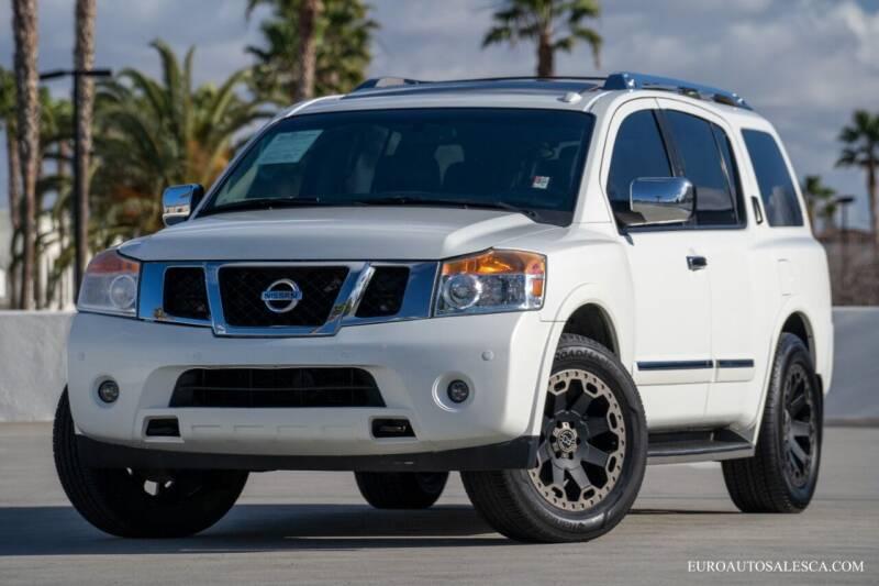 2015 Nissan Armada for sale at Euro Auto Sales in Santa Clara CA