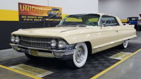 1962 Cadillac Series 62 for sale at UNIQUE SPECIALTY & CLASSICS in Mankato MN