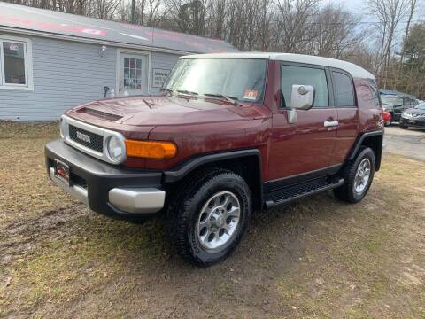2011 Toyota FJ Cruiser for sale at Manny's Auto Sales in Winslow NJ
