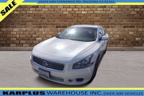 2014 Nissan Maxima for sale at Karplus Warehouse in Pacoima CA