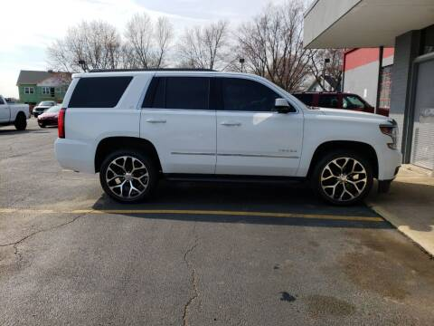 2015 Chevrolet Tahoe for sale at Stach Auto in Janesville WI
