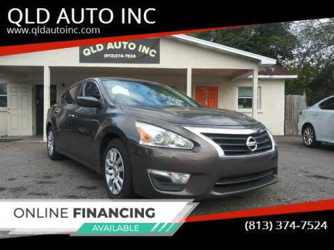 2013 Nissan Altima for sale at QLD AUTO INC in Tampa FL