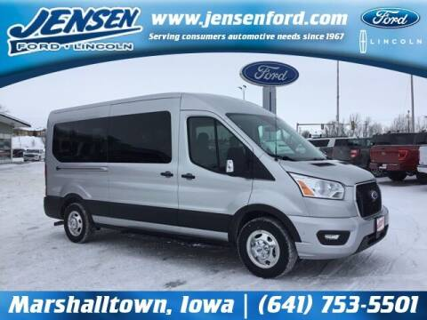 2021 Ford Transit Passenger for sale at JENSEN FORD LINCOLN MERCURY in Marshalltown IA