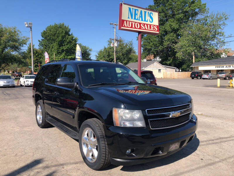 2009 Chevrolet Tahoe for sale at Neals Auto Sales in Louisville KY