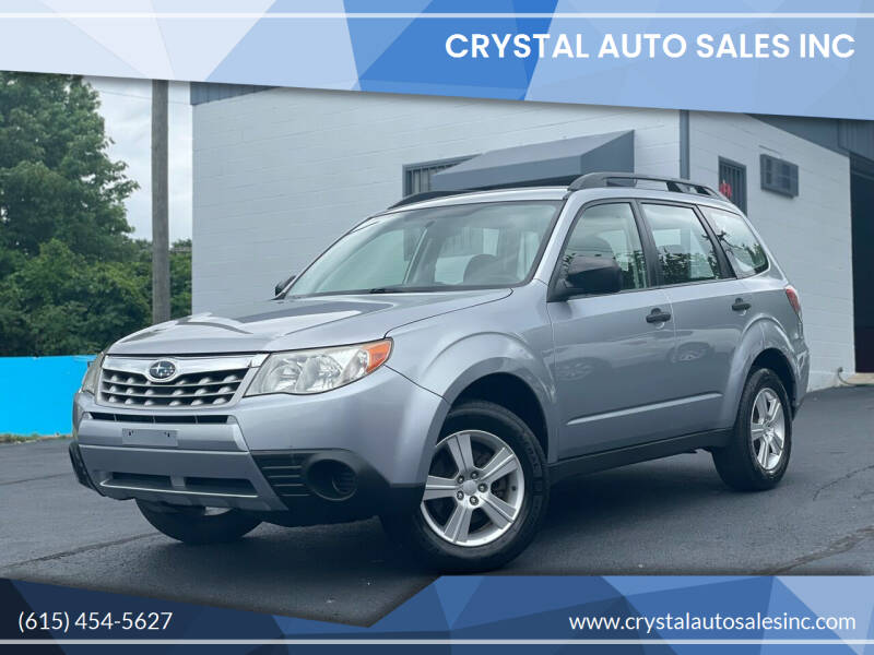 2013 Subaru Forester for sale at Crystal Auto Sales Inc in Nashville TN