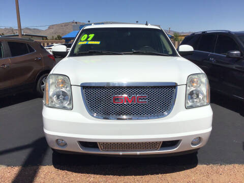 2007 GMC Yukon for sale at SPEND-LESS AUTO in Kingman AZ