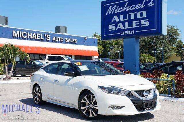 2017 Nissan Maxima for sale in Hollywood, FL