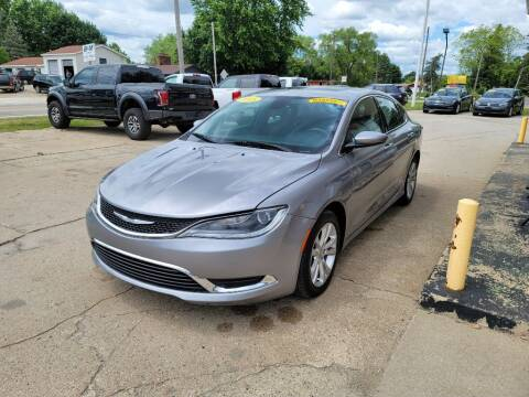 2015 Chrysler 200 for sale at Clare Auto Sales, Inc. in Clare MI
