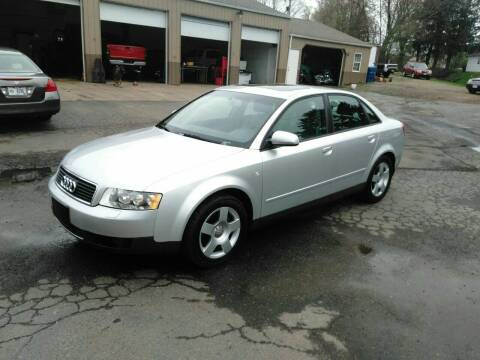 2004 Audi A4 for sale at Jim's Hometown Auto Sales LLC in Byesville OH