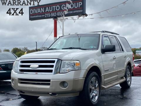 2008 Ford Expedition for sale at Divan Auto Group in Feasterville PA