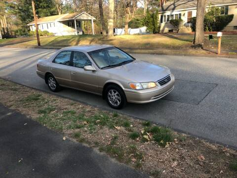 2001 Toyota Camry for sale at Billycars in Wilmington MA