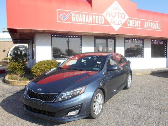 2015 Kia Optima for sale at Oak Park Auto Sales in Oak Park MI