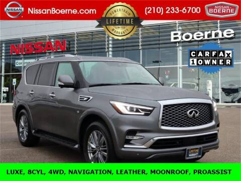 2020 Infiniti QX80 for sale at Nissan of Boerne in Boerne TX