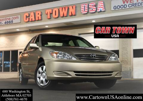 2004 Toyota Camry for sale at Car Town USA in Attleboro MA