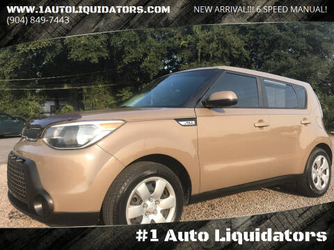 2015 Kia Soul for sale at #1 Auto Liquidators in Yulee FL