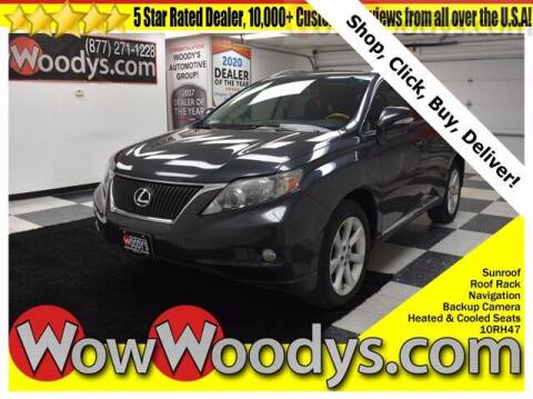 2010 Lexus RX 350 for sale at WOODY'S AUTOMOTIVE GROUP in Chillicothe MO