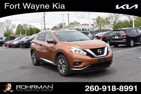 2016 Nissan Murano for sale at BOB ROHRMAN FORT WAYNE TOYOTA in Fort Wayne IN