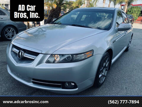 2008 Acura TL for sale at AD Car Bros, Inc. in Whittier CA