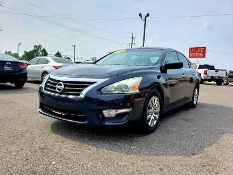 2014 Nissan Altima for sale at AUTO BARGAIN, INC. #2 in Oklahoma City OK